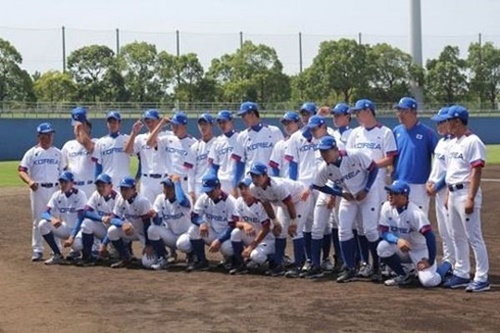 野球のU-18韓国代表