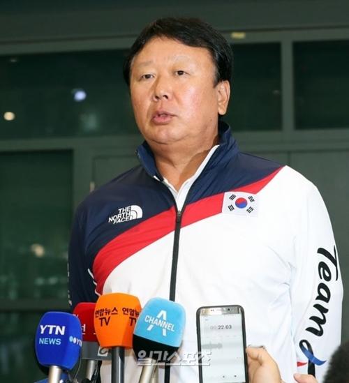 2018ジャカルタ・パレンバン・アジア大会韓国野球国家代表チームの宣銅烈監督