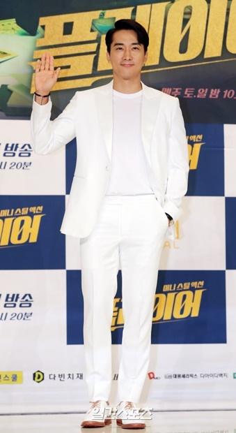 20日午後、ソウル永登浦タイムスクエアで行われたドラマ『Player』の制作発表会に登場した俳優ソン・スンホン
