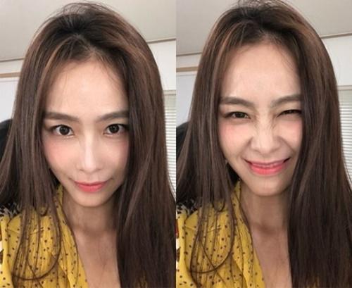 韓国女優のホン・スヒョン