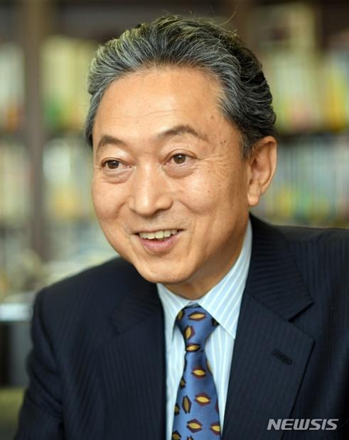 鳩山由紀夫・元日本首相(写真提供=釜山大学)