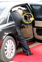 <南北会談>金正恩委員長のマイバッハ、車内の「赤いボタン」の正体は?