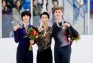 <フィギュア>韓国の「フィギュア王子」車俊煥、羽生に3.87点差で銀メダル