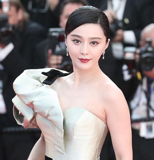 中国女優のファン・ビンビンさん(写真=韓国のニッカンスポーツ)