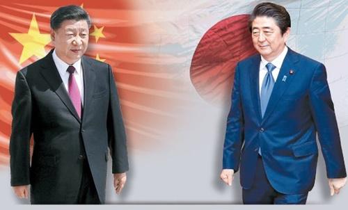 習近平国家主席、安倍晋三首相