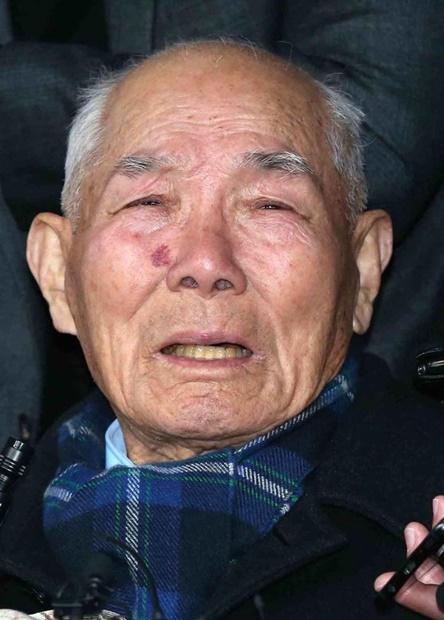 日帝強制徴用被害者イ・チュンシクさん(94)