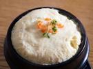 おすすめはケランチム(卵蒸し)。溶き卵に水、「サンドゥレ ヨリス」を適量入れて蒸すだけで、韓国の味が出来上がり!簡単調味料の登場で、日本でも韓国の味が手軽に再現できるようになりました。