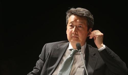 中央日報が主催したCSISフォーラム2014に参加したビクター・チャ氏