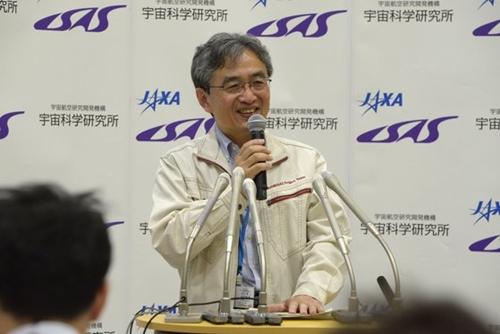 日本宇宙航空開発研究機構(JAXA)の吉川真教授