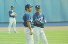 <野球>朴賛浩氏、野茂氏、韓日の英雄が公州で再会
