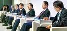 「グローバル人材フォーラム2018」最終日の7日、ソウル市内のホテルで開かれた「大学革命-総長の徹底討論」でパネラーが討論している。