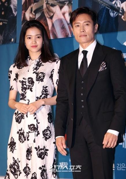 ドラマ『ミスター・サンシャイン』の女優キム・テリと俳優イ・ビョンホン