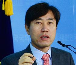 韓国の河泰慶(ハ・テギョン)正しい未来党議員