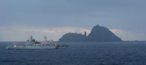 韓国海洋警察の5000トン級海洋警備艦艇「三峰号」