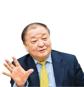 韓日議員連盟会長の姜昌一議員