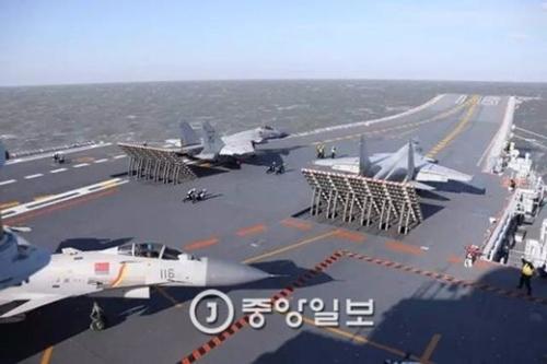 中国空母戦闘団実戦演習