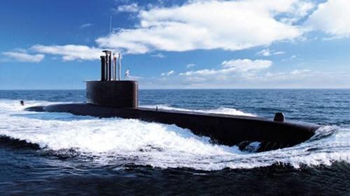 韓国海軍の張保皐級潜水艦(写真=海軍)