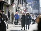 ソウルでは、まだまだダウンコートが手放せません。