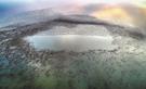 【写真】韓国・錦江はいまトモエガモの天国