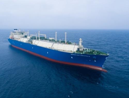 大宇造船海洋のLNG運搬船(写真=大宇造船海洋)