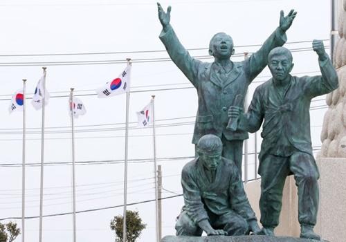 日帝強占期当時、抗日運動の拠点だった莞島所安島。