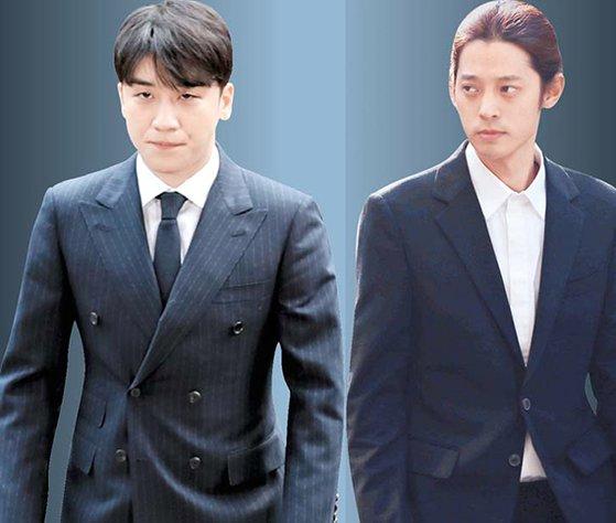 V.I(左)とチョン・ジュンヨン