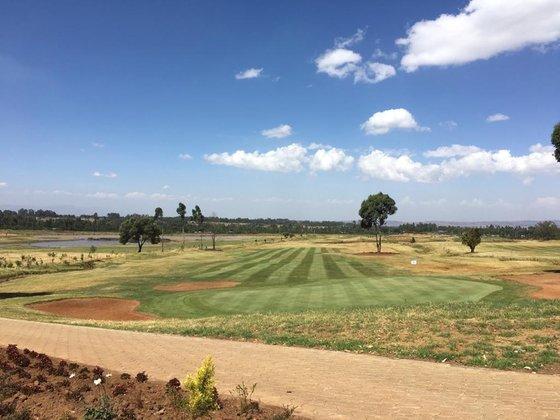 工程が90%まで進んだキピピリゴルフ場(写真=キピピリ・ゴルフ・アンド・リゾート提供)