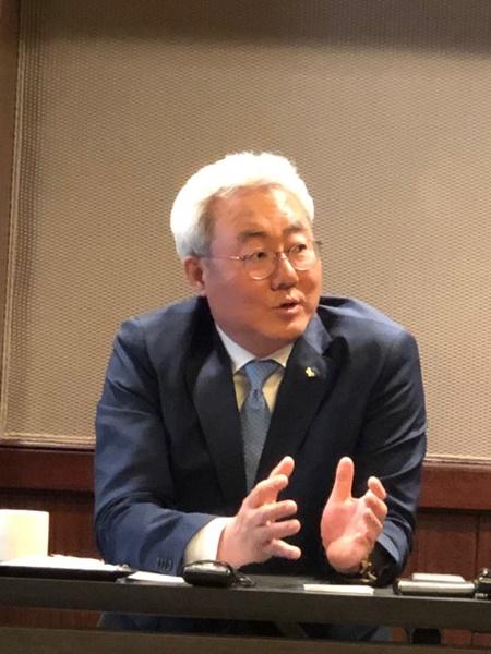 SKイノベーションのキム・ジュン社長