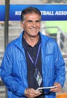 コロンビア代表のカルロス・ケイロス監督