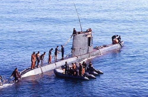 北朝鮮のサンオ級潜水艦
