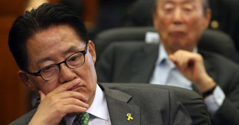 民主平和党の朴智元(パク・ジウォン)議員