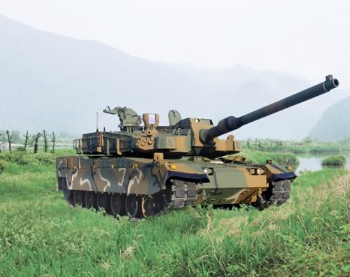 現代ロテムが生産したK2戦車(写真=現代ロテム)