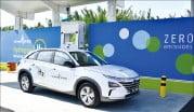 現代(ヒョンデ)自動車の次世代水素電気自動車「ネクソ」