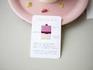 日本の雑誌でも紹介され日本からの観光客も多いため、とケーキや美味しい食べ方の説明カードが日本語で用意されています。