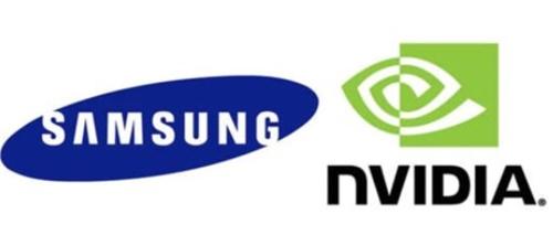 サムスン電子とエヌビディアのロゴ
