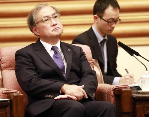 秋葉剛男・外務省事務次官(写真=中央フォト)