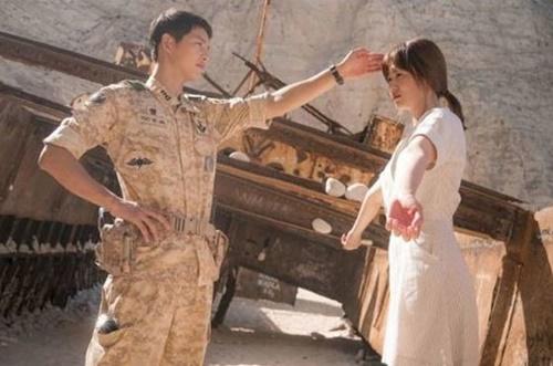 KBS第2テレビのドラマ『太陽の末裔 Love Under The Sun』のワンシーン