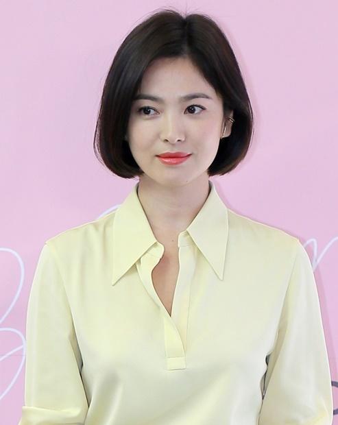 女優のソン・ヘギョ。(写真=韓国ニッカンスポーツ)