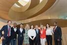 「五輪のレジェンドたちと肩を並べて」 キム・ヨナ、IOC新本部開館式に出席
