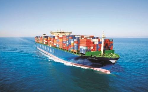 現代商船の1万3100TEUコンテナ船(写真=現代商船)