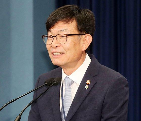 青瓦台政策室長に就任した金尚祖氏(写真=青瓦台写真記者団)