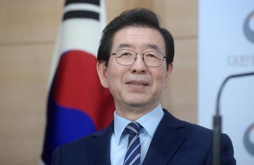 朴元淳ソウル市長