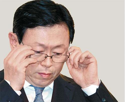 辛東彬(シン・ドンビン)ロッテグループ会長が日本出張中、金融機関関係者との面談を続けている。(中央フォト)