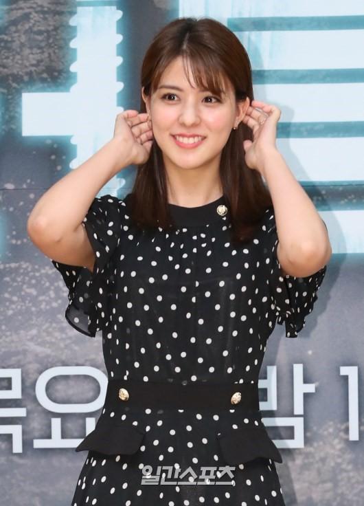 16日午後、ソウル木洞SBSで開かれたドラマ『ドクター探偵』の制作発表会に登場した女優の藤井美菜。