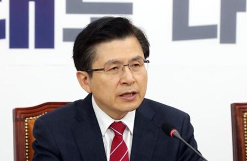 自由韓国党の黄教安(ファン・ギョアン)代表