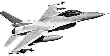 韓国軍のKF-16戦闘機
