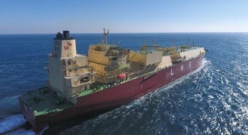 SK E&Sが保有しているLNG船[写真 SK E&S]