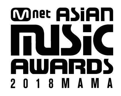 昨年の2018 MAMA(Mnet Asia Music Award)ロゴ