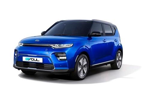 ドイツの自動車雑誌「Auto Zeitung」で実施した小型電気自動車の比較評価で起亜自動車「SOUL EV」がBMW「i3s」、日産「LEAFe+」を抜いて最も良い評価を受けた。[写真 起亜自動車]
