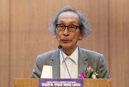 和田春樹東京大学名誉教授
